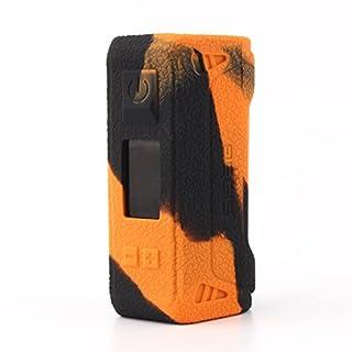 GeekVape Aegis 100w TC Hülle,CEOKS Silikon Schutzhülle für GeekVape Aegis 100w TC mod Box Segeln Skin Ärmel Cover Shield ,Schwarz / Orange