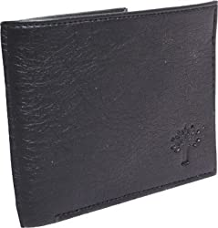 Woodland Black Mens Wallet (W-143)
