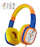 OneOdio Kinder Kopfhörer Gehörschutz mit 85 db mit Lautstärkebegrenzung DIY Kinderkopfhörer On Ear Headset 3.5mm Kabelgebundene Leicht Kopfhörer