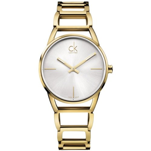 Calvin Klein Ladies Watch XS Analogue display of stately K3G23526 Stainless Steel