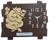 Designer Wall Clock /Watch 13x11 INCHES,...
