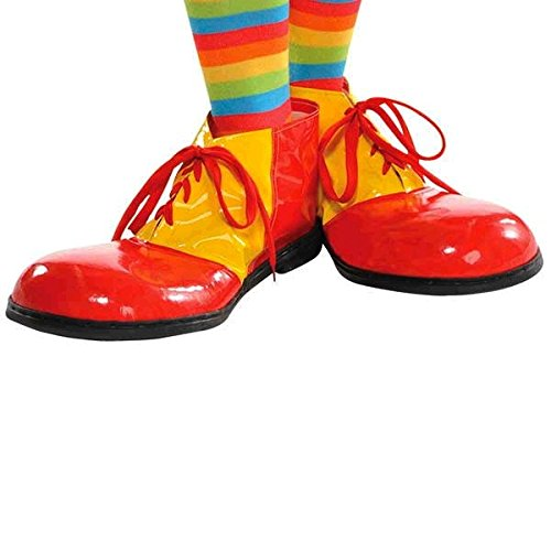 RIES - SHOES (RE-ORDERING - PACK OF 3) (Big Top Clown Maske)