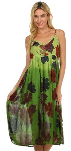 Sakkas Robe d'Été Heavenly Blossom Vert
