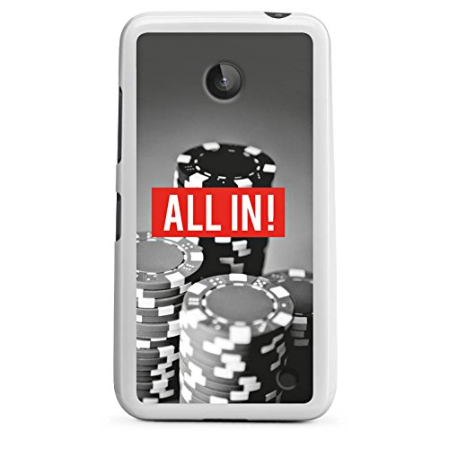 DeinDesign Nokia Lumia 635 Silikon Hülle Case Schutzhülle All in Poker Chips