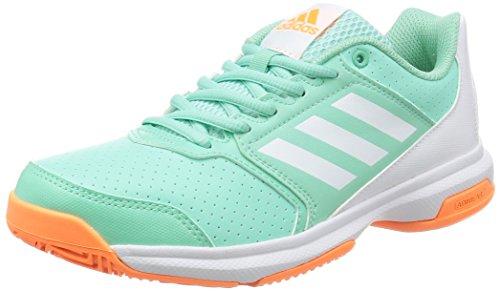 adidas-Adizero-Zapatillas-de-tenis-para-running-tenis-Attack-W-verdeblanco