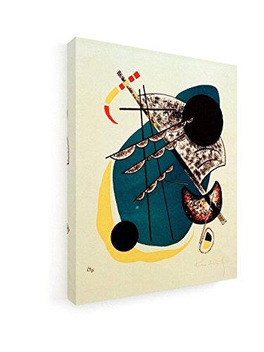 Wassily Kandinsky - Kleine Welten II - 1922 - 20x25 cm - Leinwandbild auf Keilrahmen - Wand-Bild -...