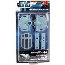 Revell 653 - Juego de construcción para niños Star Wars de 21 piezas (653) - Figura Star Wars Nave caza TIE Darth Vader