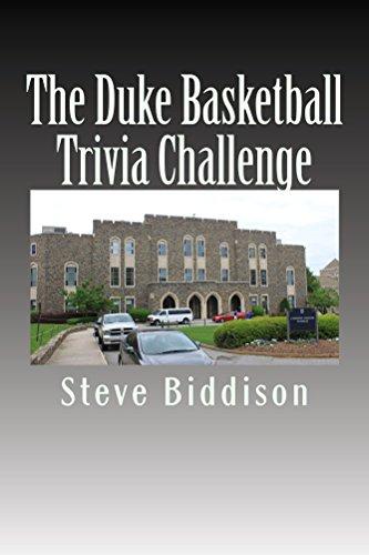 The Duke Basketball Trivia Challenge (English Edition) por Steve Biddison