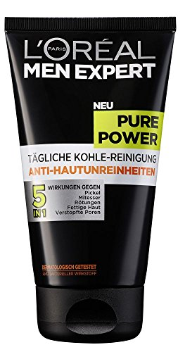 L'Oréal Paris Men Pure Power mit Aktivkohle