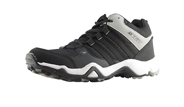 Buy TRV shoes Men's Black Running Shoes