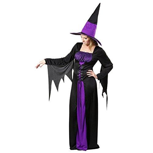 Heitmann Deco 6929 House of Halloween - Erwachsenenkostüm Hexe, Kleid und - Gute Hexe Kostüm Für Erwachsene