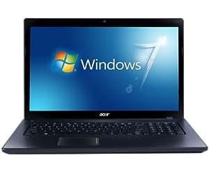 "Acer Aspire 7250-E304G50Mn Ordinateur Portable 17"" (49,94 cm) AMD 500 Go 4096 Mo AMD Radeon HD 6320 Windows 7 Home 64 bits Noir"