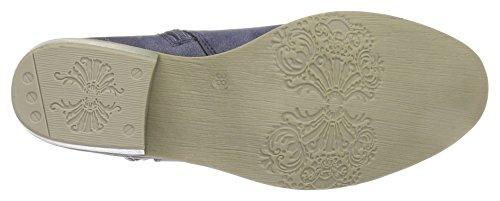 Marco Tozzi25311 - Stivali classici imbottiti a gamba corta Donna Blu (Navy Antic 892)