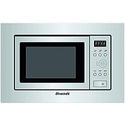 Brandt BMS6112X Four micro-ondes intégrable 700W Gris 17 l