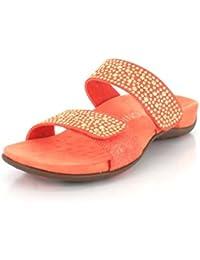 Vionic Womens 341 Samoa Rest Leather Sandals