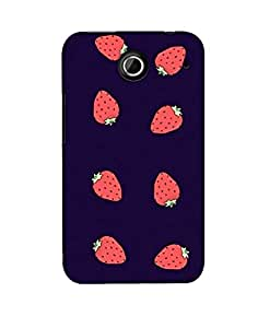 Pick Pattern Back Cover for Lenovo S880