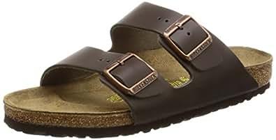 Birkenstock Arizona 51101, Chaussures mixte adulte - Marron (Marron foncé-V.1), 35 (normal) EU