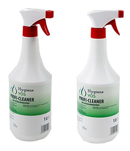 Profi Cleaner VOS-Spezialkonzentrat 2 x 1 Liter Sprühflasche -