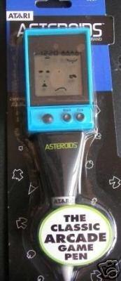 ATARI ASTEROIDS PEN HANDHELD VIDEO GAME! by Stylus Digital Handheld-stylus