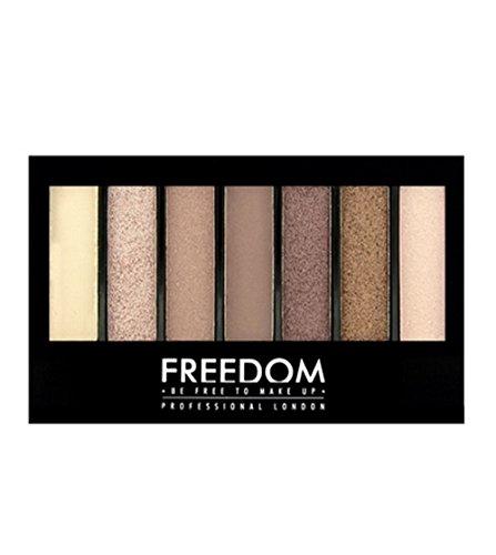 Freedom Makeup London Professional Eyeshadow Kit, Shade and Brighten Stunning Rose, 5.6g