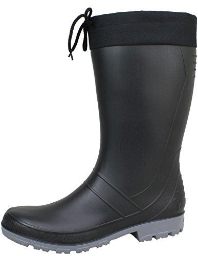Bockstiegel Axel Unisex Erwachsene Regenstiefel schwarz
