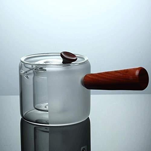 BNkettle Wasserkocher Tee Herd Keramik Glas Teekanne 300ml Wasserkocher (Color : B)