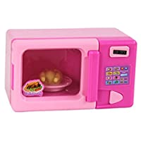 kimberleystore Creative Plastic Simulation Microwave Oven Home Appliance for Kids