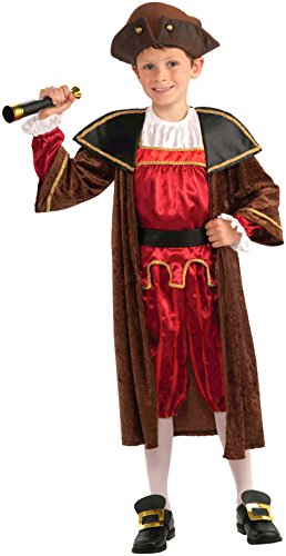 Columbus Kinder Kostüm - Historical Columbus Costume Child Large 12-14