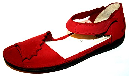 Loints of Holland 15505 Damen Sandalen (ohne Karton) Rot (rot 193)