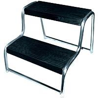 Eufab 11823 - Escalerilla (2 escalones, 480 x 440 x 360 mm)