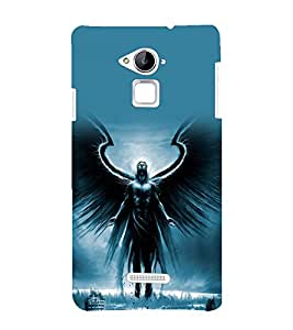 printtech Fantasy Angel Back Case Cover for Coolpad Note 3 Lite