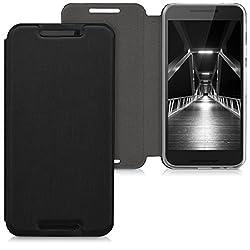 kwmobile LG Google Nexus 5X Hülle - Flip Handy Schutzhülle - Cover Case Handyhülle für LG Google Nexus 5X - Schwarz