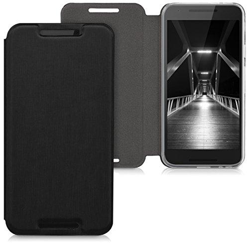 kwmobile LG Google Nexus 5X Hülle - Flip Handy Schutzhülle - Cover Case Handyhülle für LG Google Nexus 5X