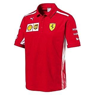 Puma Ferrari Herren Team Polo Rosso Corsa M