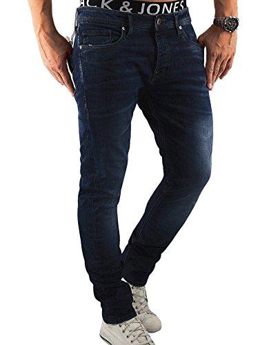 JACK & JONES Herren Jeans jjiTIM 085 Used Look...