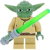 LEGO Star Wars Minifigur Custom Yoda incl. 1 GALAXYARMS Schwert