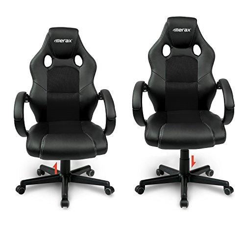 Merax Gaming Stuhl : merax gaming stuhl b rostuhl drehstuhl schreibtischstuhl ~ Watch28wear.com Haus und Dekorationen