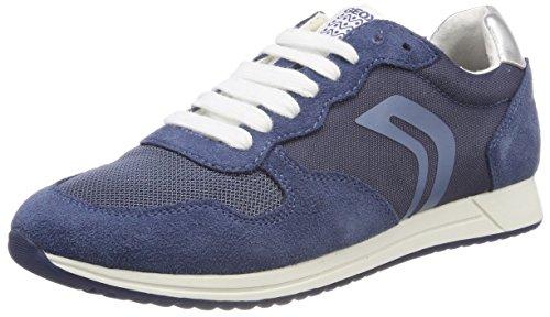 Geox J Jensea E, Zapatillas para Niñas, Azul (Avio), 29 EU