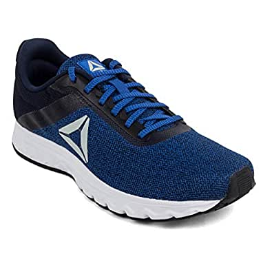 Reebok Men's Coll Navy/Awesomeblue/Blk Running Shoes-10 UK/India (44.5 EU)(11 US) (Flyer Run Lp)