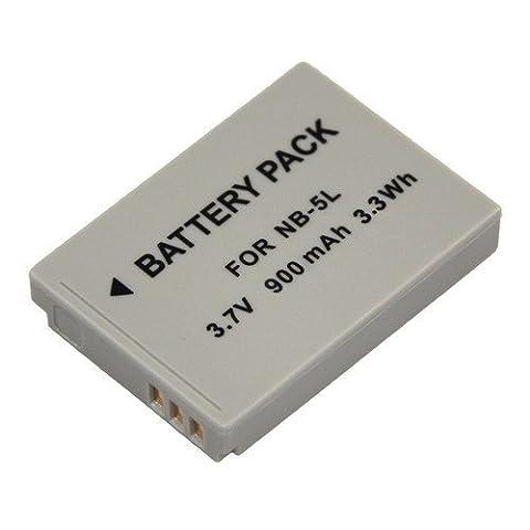Batterie Li-Ion pour Canon PowerShot SD770 IS, SD790 est SD800 est SD850 est SD870 est SD880 est SD890 est SD900 numérique ELPH, SD950 est SD990 est, SX200 IS/SX210 IS