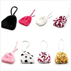 HitTime 1PC Doll Accessories Plush Bag Girl for 18 inch Dolls Toy Random