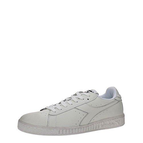 Diadora Herren Game L Low Waxed Sneakers Elfenbein (Bianco/bianco/bianco)