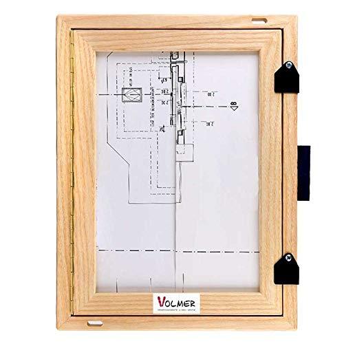 feldbuchrahmen a4 Feldbuchrahmen DIN A4 - Holz - Das Standard-Klemmbrett auf Feld und Baustelle