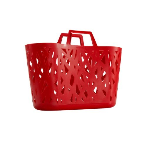 Reisenthel Nestbasket Shopping Basket Red One Size red by Reisenthel