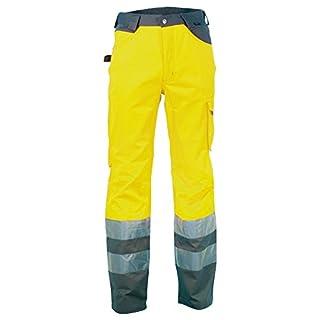 Cofra Warnschutz Bundhose LIGHT V019-0-00 Arbeitshose in Signalfarbe gelb Gr. 48