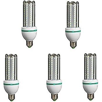 Lámpara Bombilla Led 4U Tubo casquillo E27 6400 K lus Fría 20 W 43588