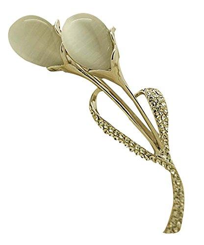 Broches Broches Femme Broches Broches Détachées Broches Détachées, Blanc