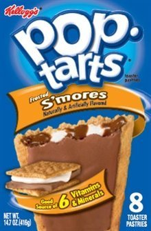 Pop-Tarts Frosted S'mores 8 count (2pack) by Kellogg's (S Mores Pop Tarts)