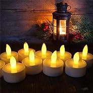 6 Adet Tealight Led Mum Sarı Hareketli Işıklı Led Mum