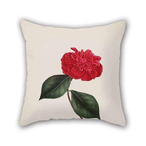 beautifulseason Christmas Pillow Cases of Flower for Living Room Bedding Office Seat Christmas Son 18 X 18 Inches/45 by 45 cm(Twin Sides)